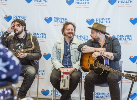 Nathaniel Rateliff and The Night Sweats visit Denver Health