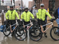 Special bikes help paramedics in crowds at Opening Day - thanks to Denver Health Foundation
